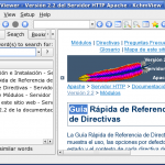 Searching in the Spanish CHM file